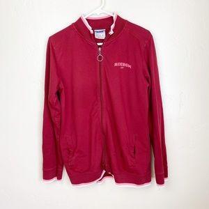 🌻Reebok   Zip Up Red Track Jacket